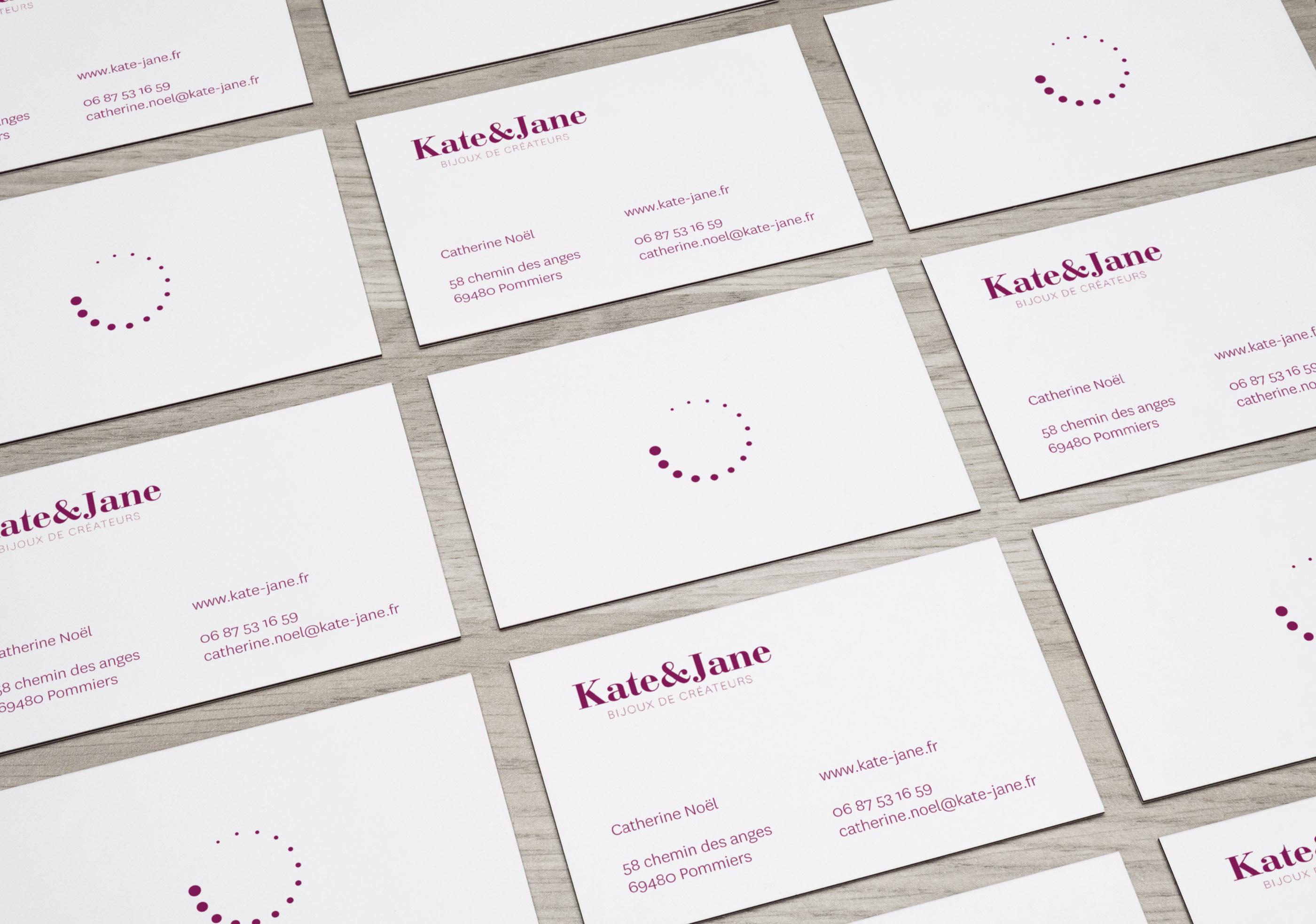 Home Agence De Communication Lyon Carte Visite Kate Et Jane